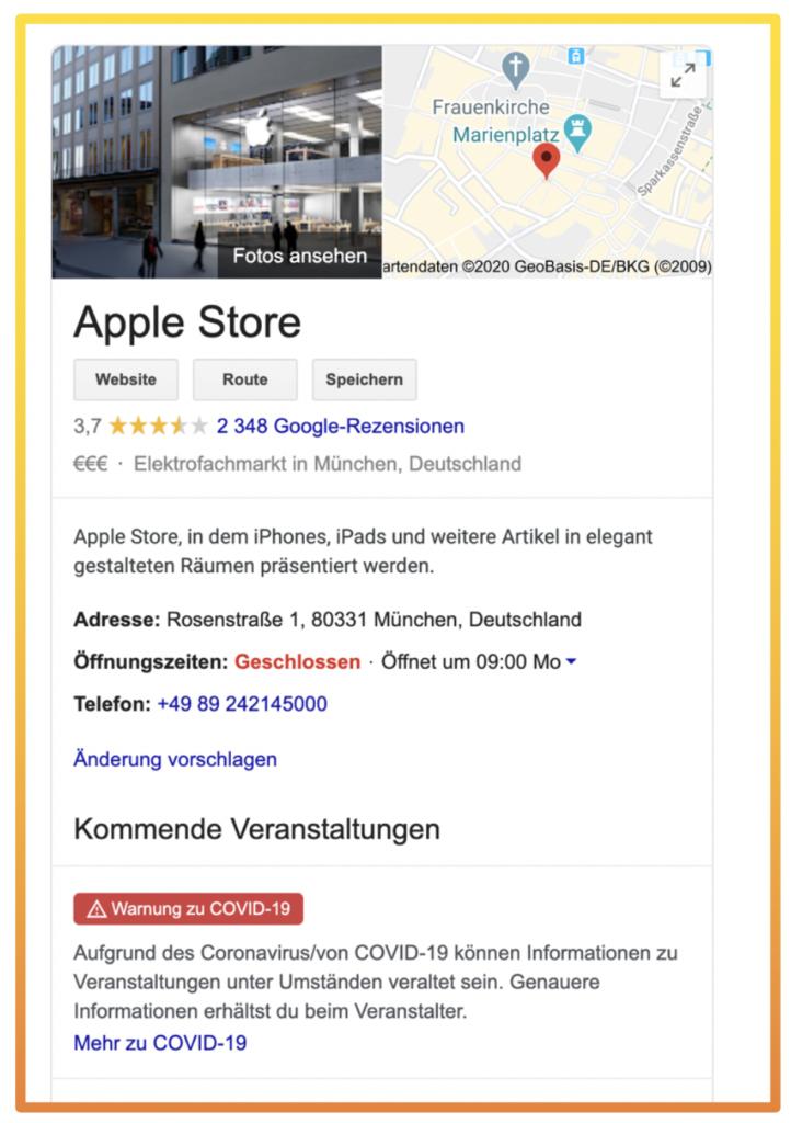 Google My Business Optimierung - sterne-roboter.de